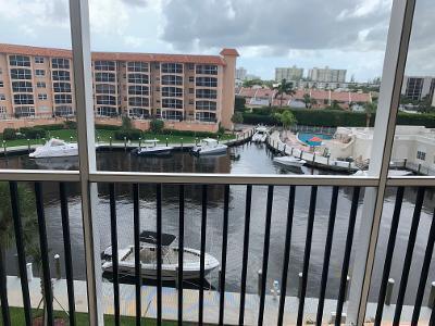 View from Balcony of marina