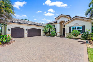 GORGEOUS 4-bedroom + office, 4.1 bathroom home situated on over 1/2 acre in the highly sought after, gated community of The Preserve at Bay Hill Estates in Palm Beach Gardens! This single-story beauty was built by GL Homes in 2015 and has everything youve been looking for and more with over 4,000 square feet of living space, a desirable split bedroom floor plan, soaring high ceilings, and SPECTACULAR outdoor patio and pool area with remote-controlled screen enclosures. You are going to fall in LOVE with this home from the moment you step inside. Upon arrival, youll be greeted with an elegant foyer leading into the formal dining room and living room. This home was professionally designed by the renowned Decorators Unlimited [CLICK TO CONTINUE READING SUPPLEMENT]