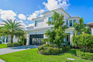 Have you been searching for the perfect new construction home in the Palm Beach area with 4 bedrooms PLUS an office, a saltwater pool, and a functional yet elegant open layout? Your search is over! This GORGEOUS and highly sought after HUDSON model in the esteemed Artistry of Palm Beach has it all and FALL IN LOVE and experience that walking-through-my-Pinterest-board magic with this elegantly upgraded Hudson model, offering a casual, yet luxuriously designed open layout and that desirable indoor-outdoor flow from patio to home that you love. Built to withstand Floridas toughest elements including hurricane impact windows and a 2019 constructed concrete block structure (CBS) shell, this Kolter-built and designer finished home is ready for its next owner.  [click to continue reading]