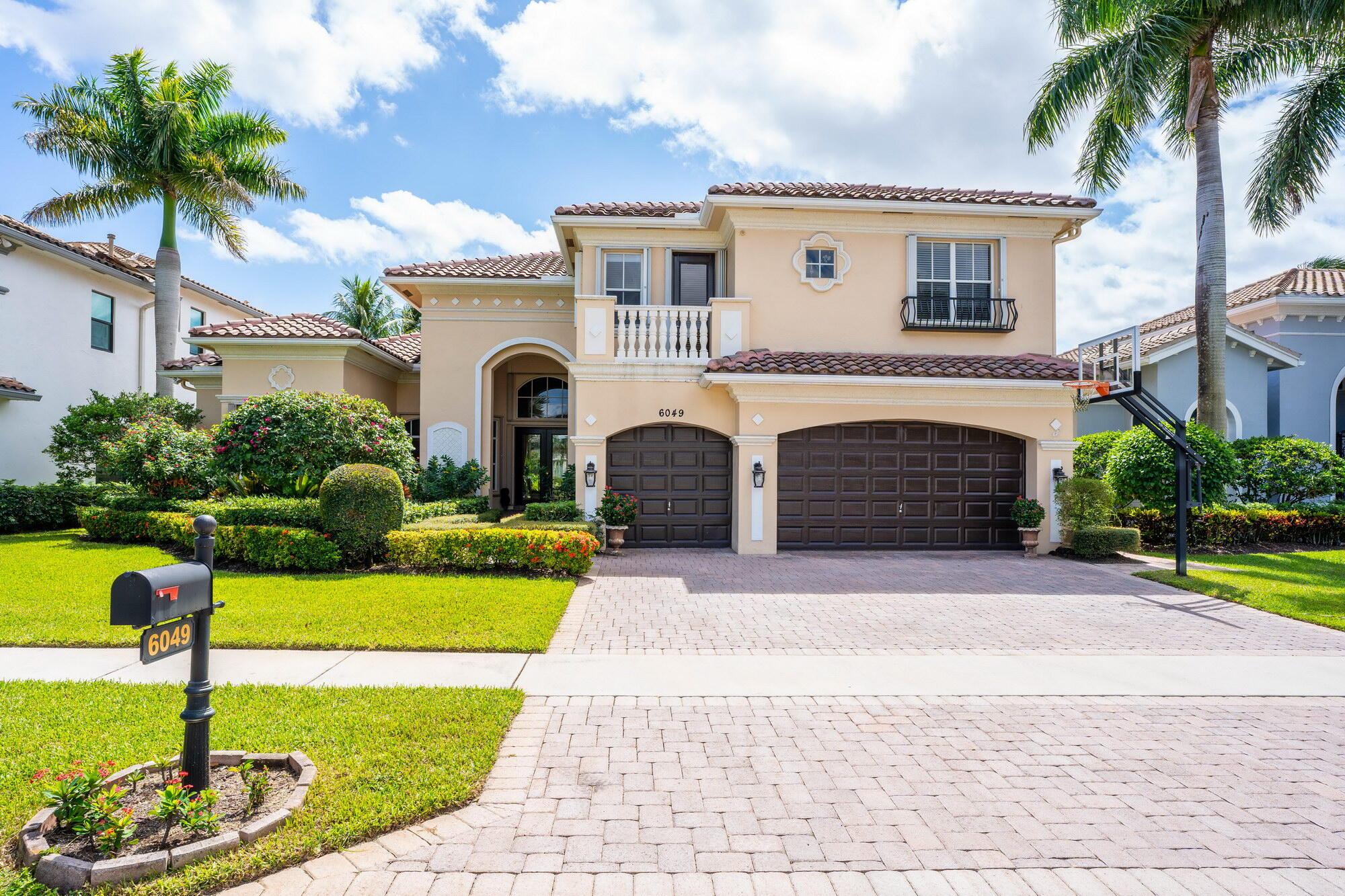 6049 Via Venetia, Delray Beach, Florida 33484, 6 Bedrooms Bedrooms, ,5.1 BathroomsBathrooms,Single Family Detached,For Sale,Via Venetia,RX-10752238