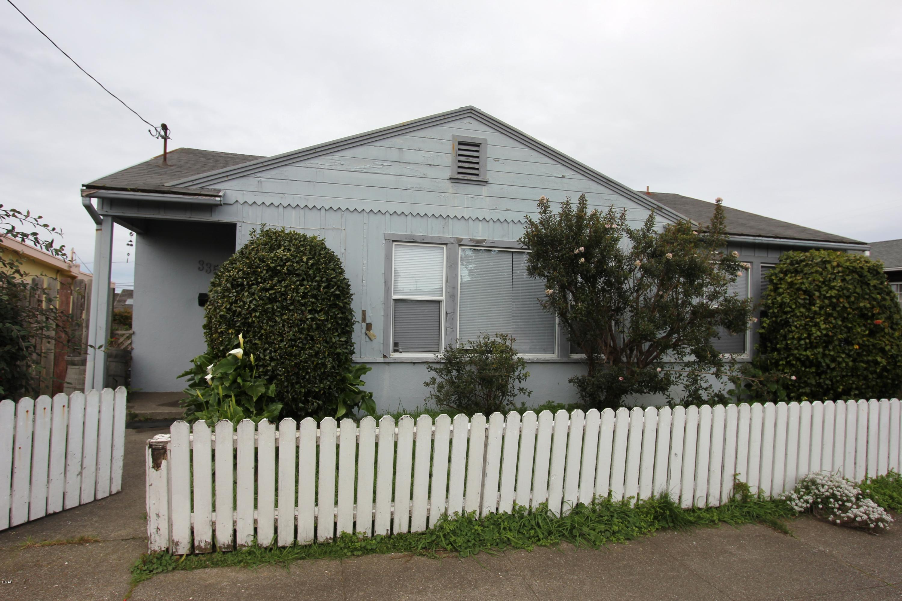 Residential Income for Sale at 335 S Whipple Street 335 S Whipple Street Fort Bragg, California 95437 United States