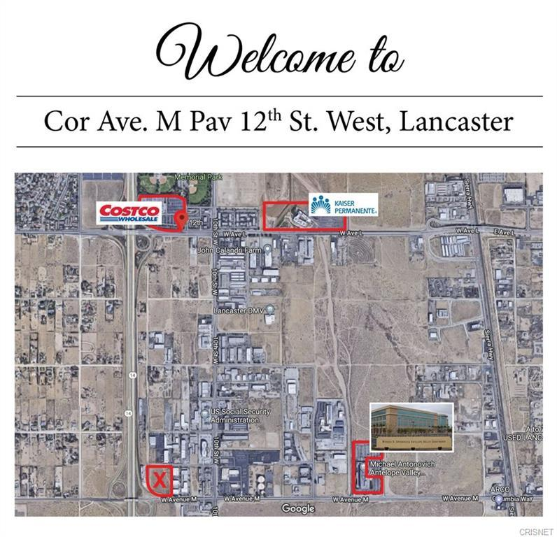 C W Cor Avenue M Pav 12th Stw, Lancaster, California