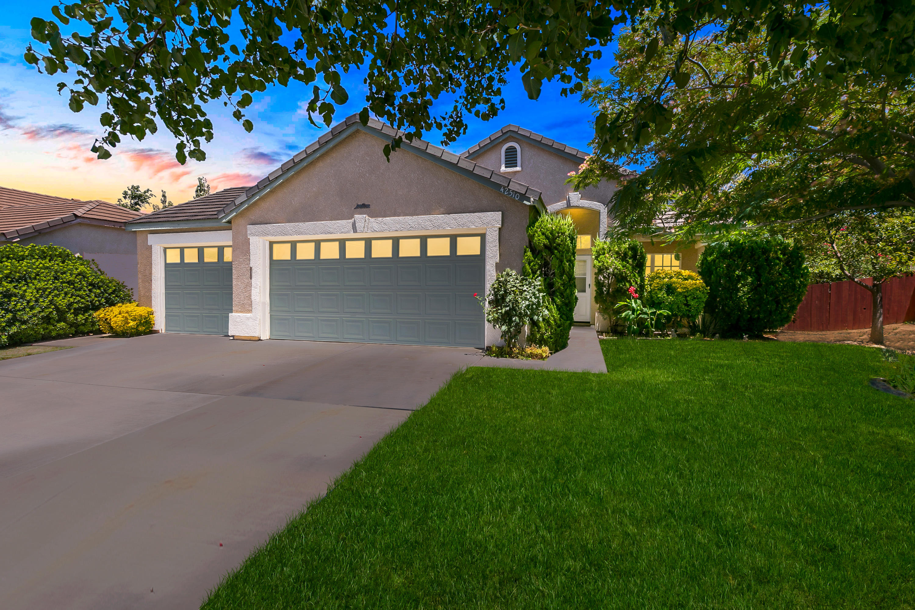 42510  Blossom Drive, Lancaster in Los Angeles County, CA 93536 Home for Sale