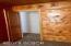 Original Pine Walls/Ceiling Bedroom