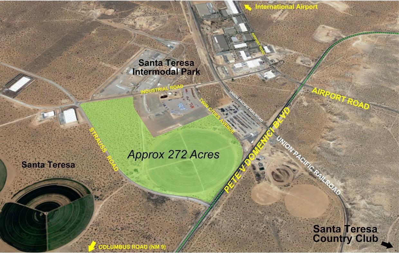 9001 Pete V Domenici Highway, Santa Teresa, New Mexico 88008, ,Land,For sale,Pete V Domenici,809850