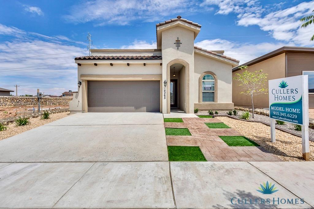 Beautiful Cullers home with the Floor plan Desert Pincushion.  Features: Chefs Kitchen including 30' cooktop, direct hood vent, hidden controls dishwasher, stainless steel pot filler over cook top and large sliding back patio door unit.  Call the listing agent from more details!
