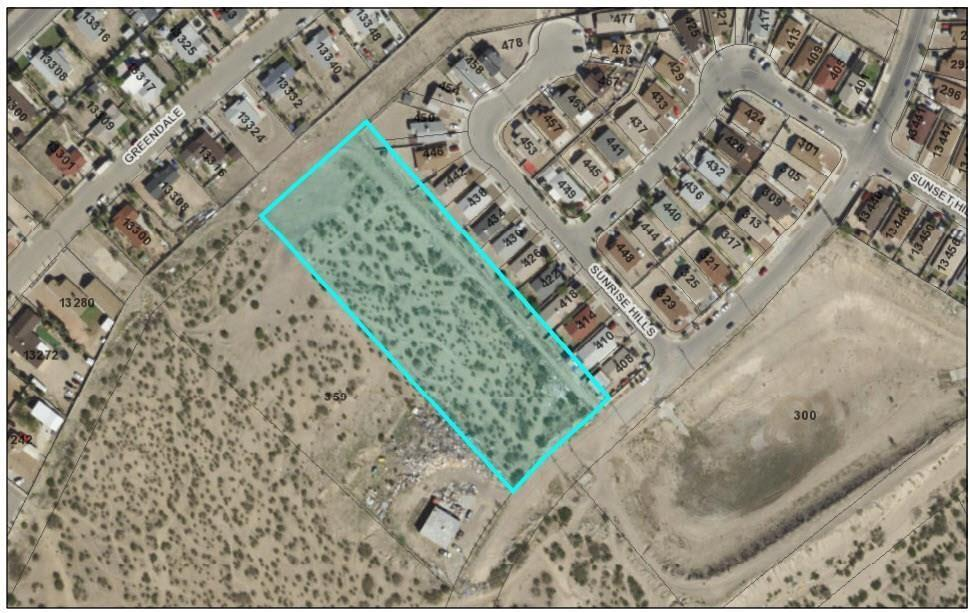 349 Ellsworth Drive, El Paso, Texas 79928, ,Land,For sale,Ellsworth,821196