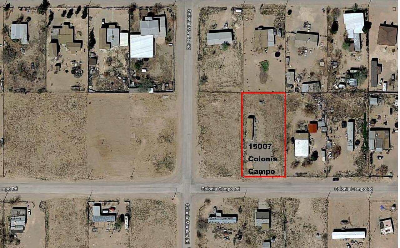 15007 COLONIA CAMPO Drive, El Paso, Texas 79928, ,Land,For sale,COLONIA CAMPO,821198