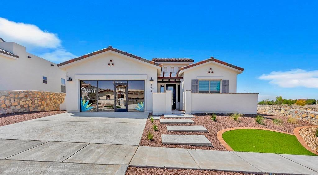 A beautiful custom home by Cullers Homes. Sonoran 2094 Floor Plan, MODEL HOME on the west side of El Paso. Open concept with open design featuring 4 bedrooms and 2.5 Bathrooms. Cullers Homes energy advantage package is designed to reduce energy consumption by 40% exceeding energy star ratings! Easy access to 1-10 and Transmountain Rd . A must see! Call the listing agent for more details!