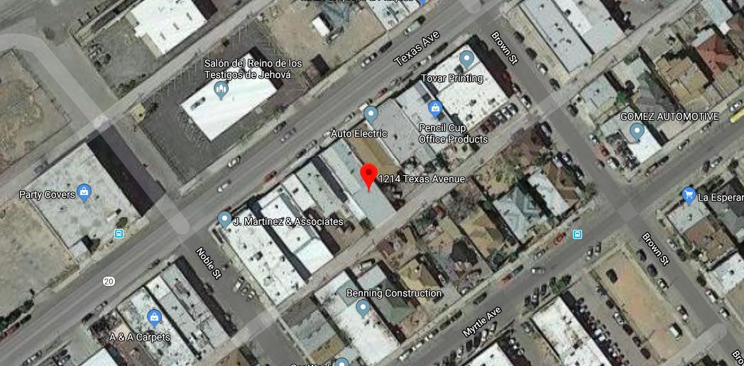 1214 TEXAS Avenue, El Paso, Texas 79901, ,Commercial,For sale,TEXAS,822598