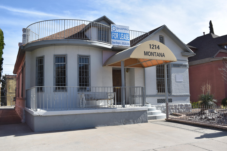 1214 Montana Avenue, El Paso, Texas 79902, ,Commercial,For sale,Montana,825253