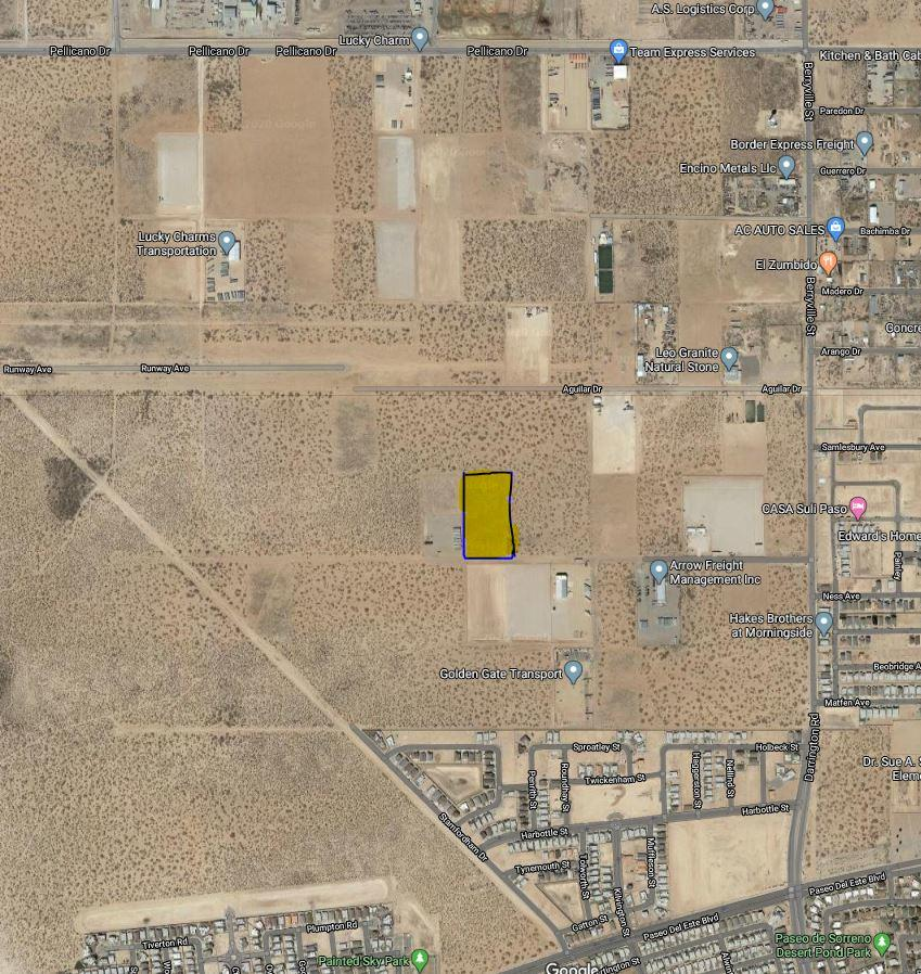 0000 Berryville Street, El Paso, Texas 79928, ,Commercial,For sale,Berryville,826090