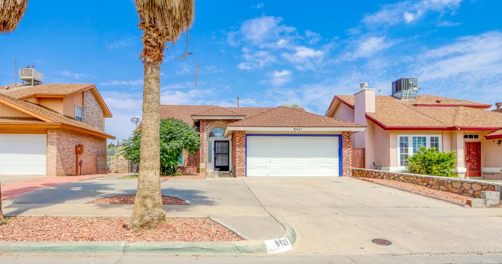 8421 TIGRIS, El Paso, Texas 79907, 3 Bedrooms Bedrooms, ,2 BathroomsBathrooms,Residential,For sale,TIGRIS,833805