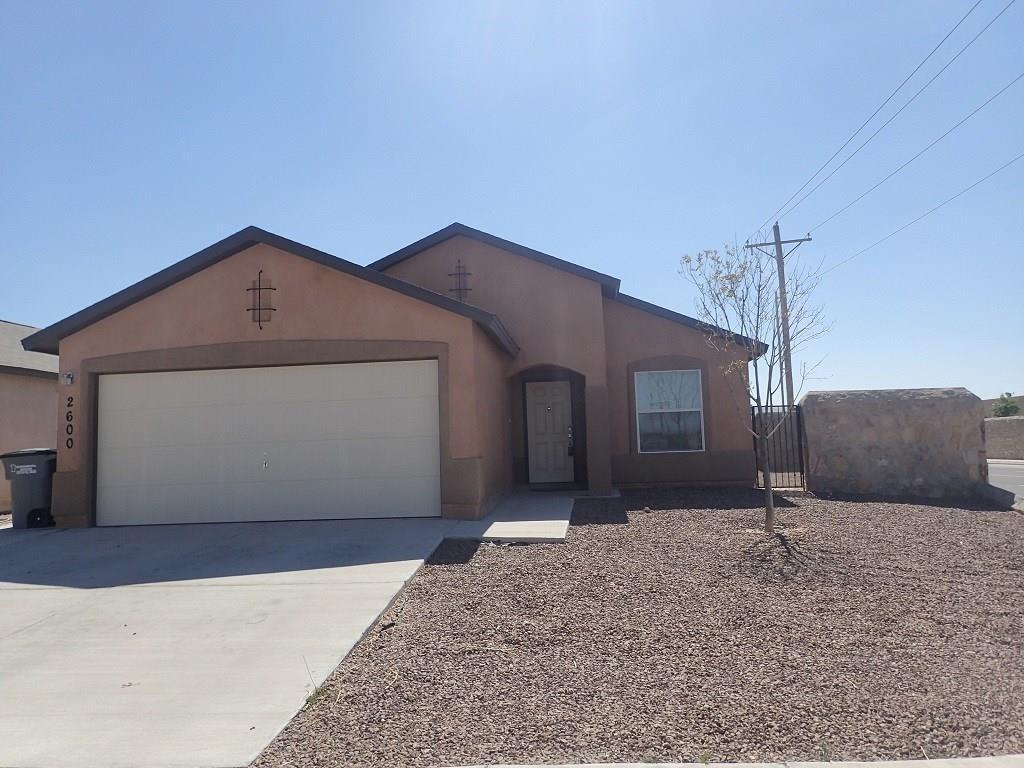 2600 MICHAEL CHANG, El Paso, Texas 79938, 3 Bedrooms Bedrooms, ,2 BathroomsBathrooms,Residential Rental,For Rent,MICHAEL CHANG,833878