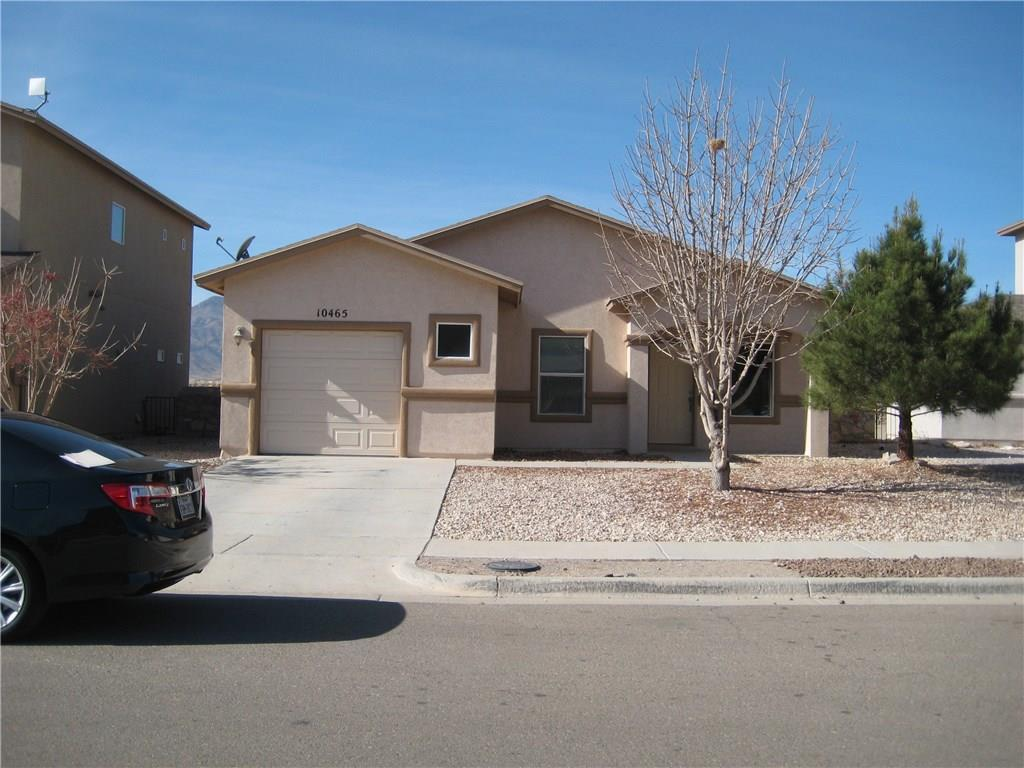 10465 CANYON SAGE, El Paso, Texas 79924, 3 Bedrooms Bedrooms, ,2 BathroomsBathrooms,Residential,For sale,CANYON SAGE,834095