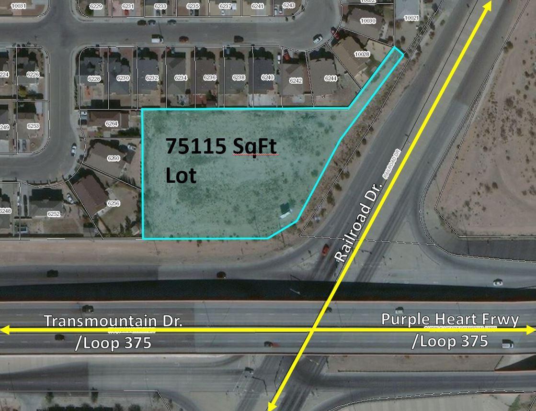 TBD Railroad, El Paso, Texas 79924, ,Land,For sale,Railroad,835509