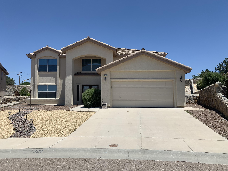 329 RESLER RIDGE Drive, El Paso, Texas 79912, 5 Bedrooms Bedrooms, ,5 BathroomsBathrooms,Residential Rental,For Rent,RESLER RIDGE,835770