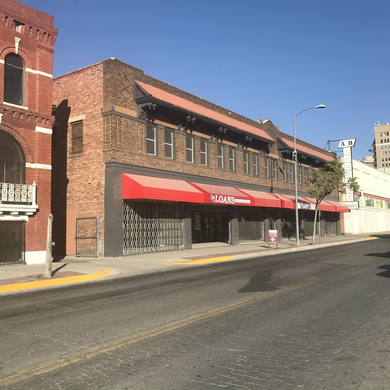 215 S OREGON Street, El Paso, Texas 79901, ,Commercial,For sale,S OREGON,835836