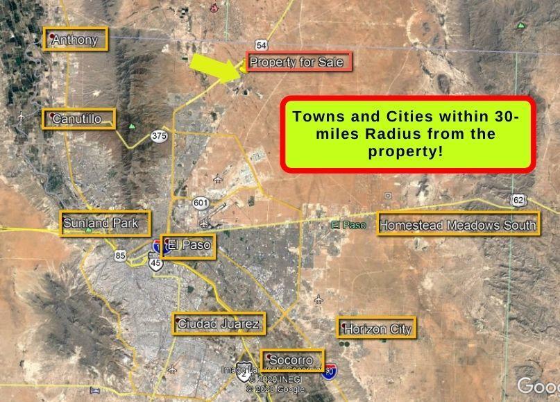 7325 O Riley Lane, El Paso, Texas 79934, ,Land,For sale,O Riley,837226