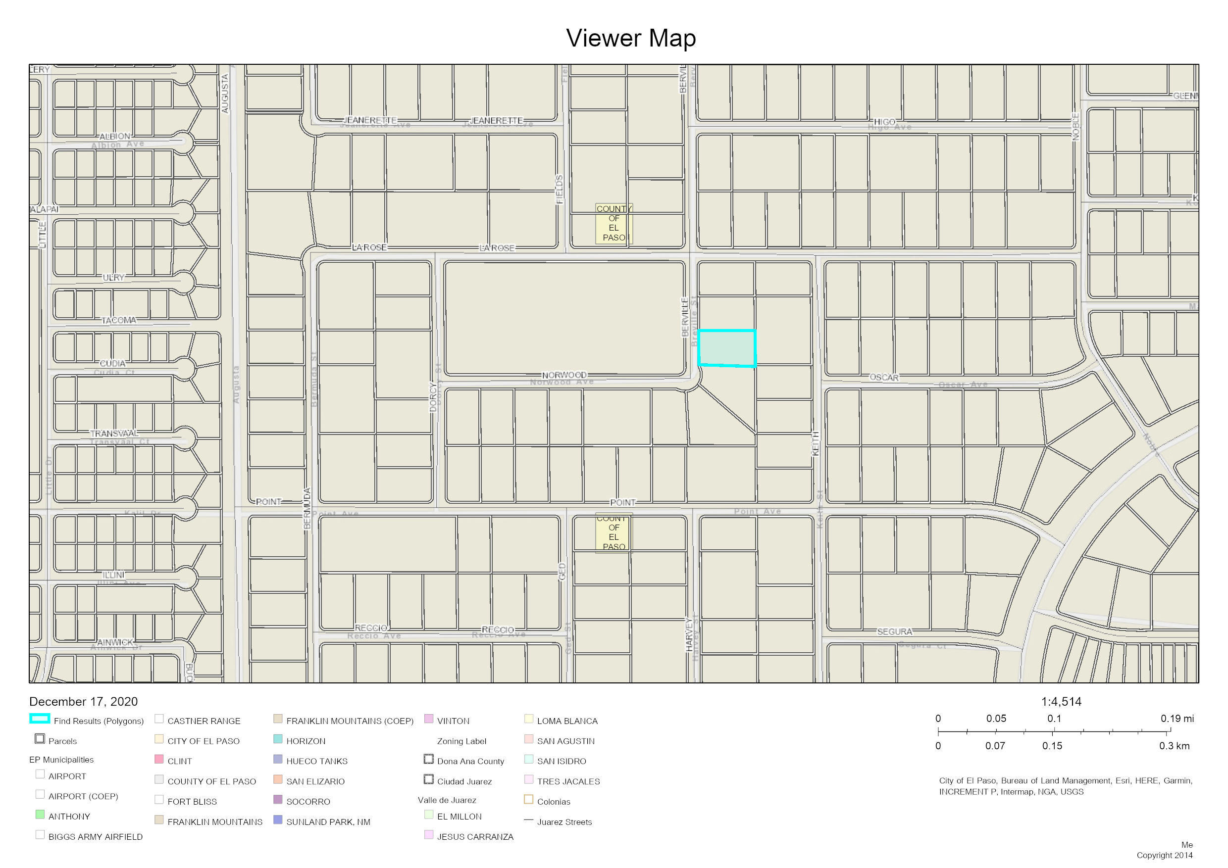 TBD BERVILLE Street, Clint, Texas 79836, ,Land,For sale,BERVILLE,839420