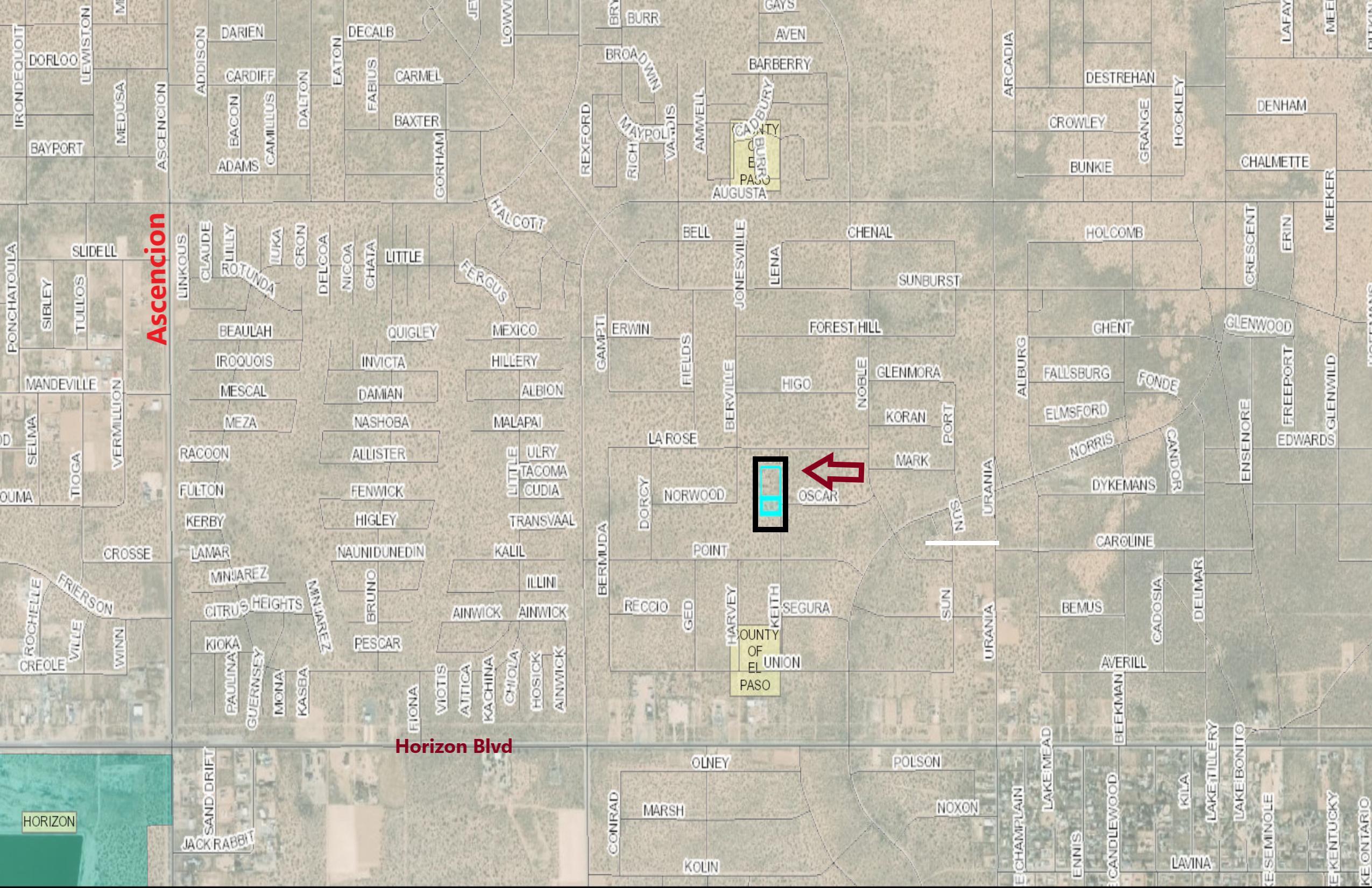 TBD BERVILLE Street, Clint, Texas 79836, ,Land,For sale,BERVILLE,839420