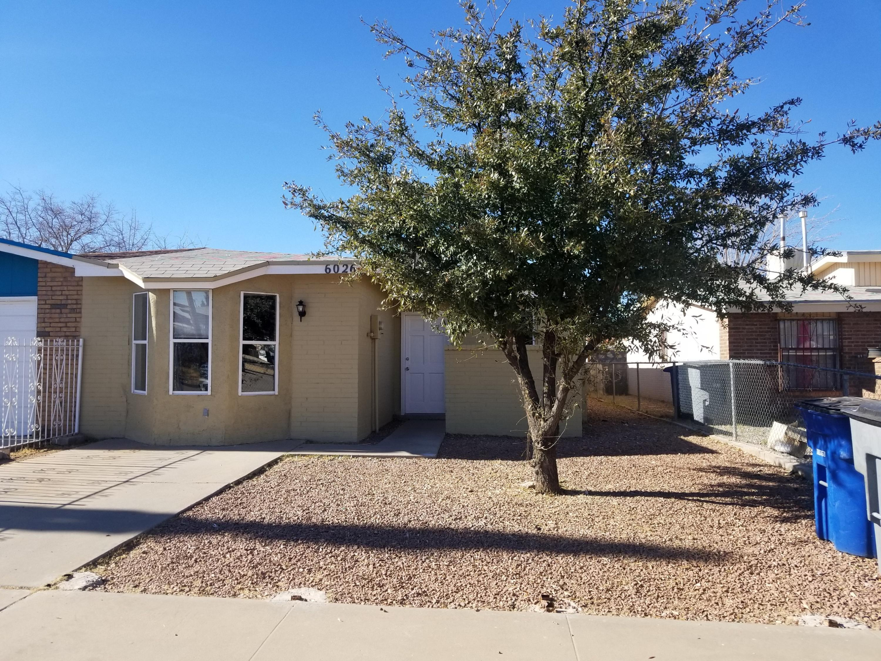 6026 MORNING GLORY, El Paso, Texas 79924, 3 Bedrooms Bedrooms, ,2 BathroomsBathrooms,Residential,For sale,MORNING GLORY,839766