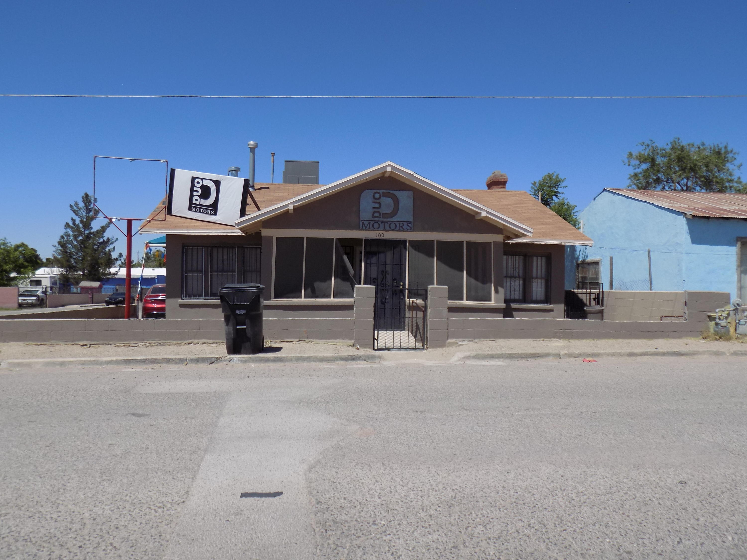 100 WASHINGTON Street, Anthony, Texas 79821, ,Commercial,For sale,WASHINGTON,841802