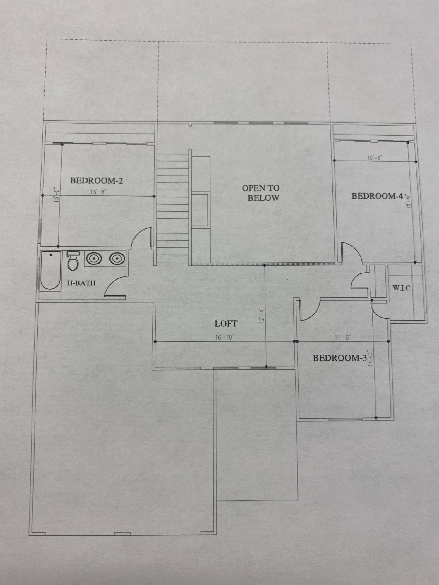 Davalissa - 2nd level floor plan