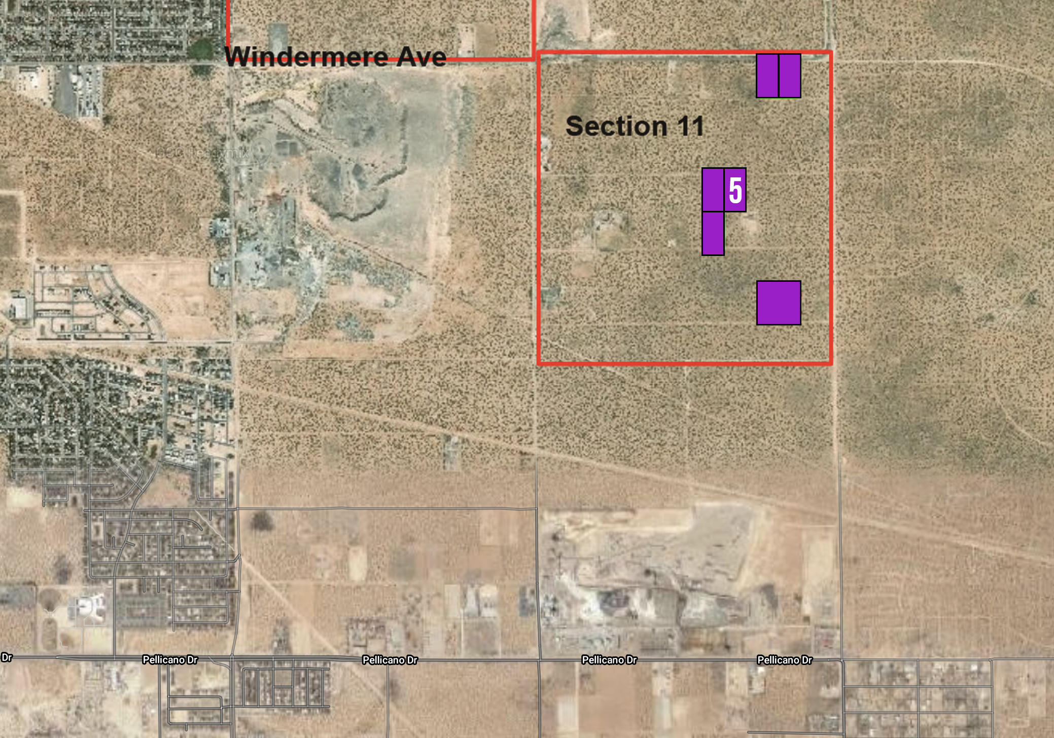 Map - Lot 5