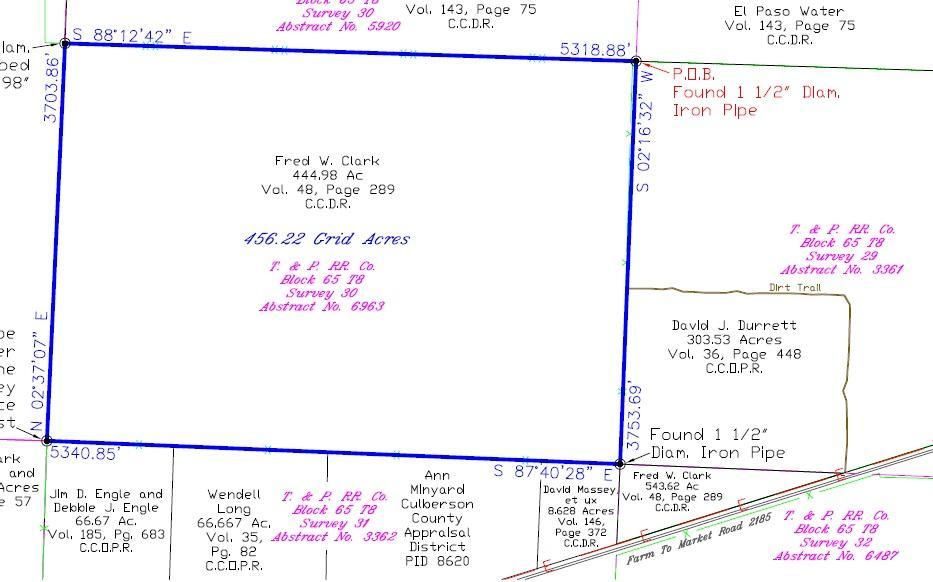 6963 AB BLK 65 Road, Van Horn, Texas 79855, ,Land,For sale,AB BLK 65,842724