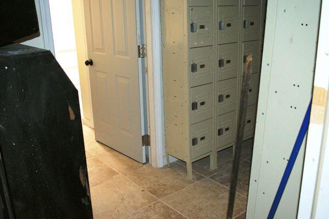 Employees lockers