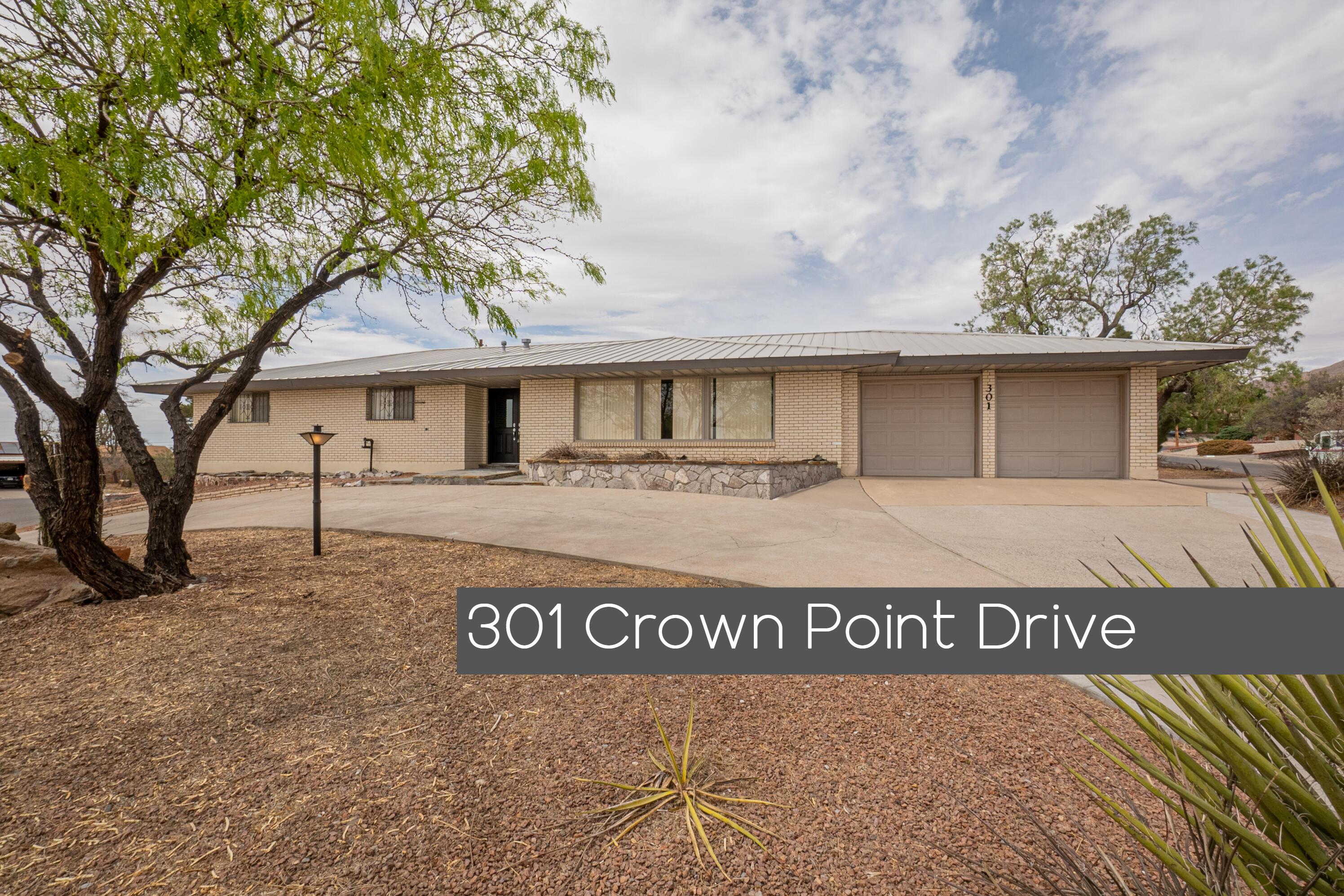 301 Crown Point, El Paso, Texas 79912, 3 Bedrooms Bedrooms, ,2 BathroomsBathrooms,Residential,For sale,Crown Point,844313