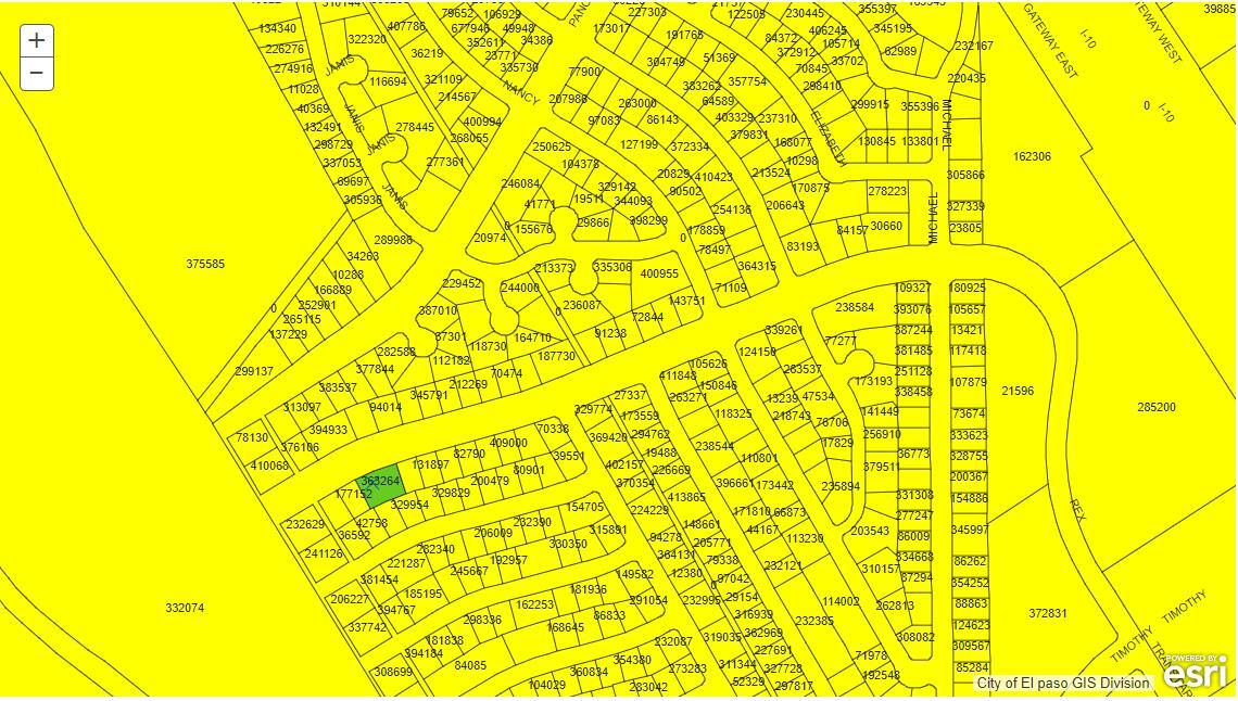 El Paso City Planning Dept