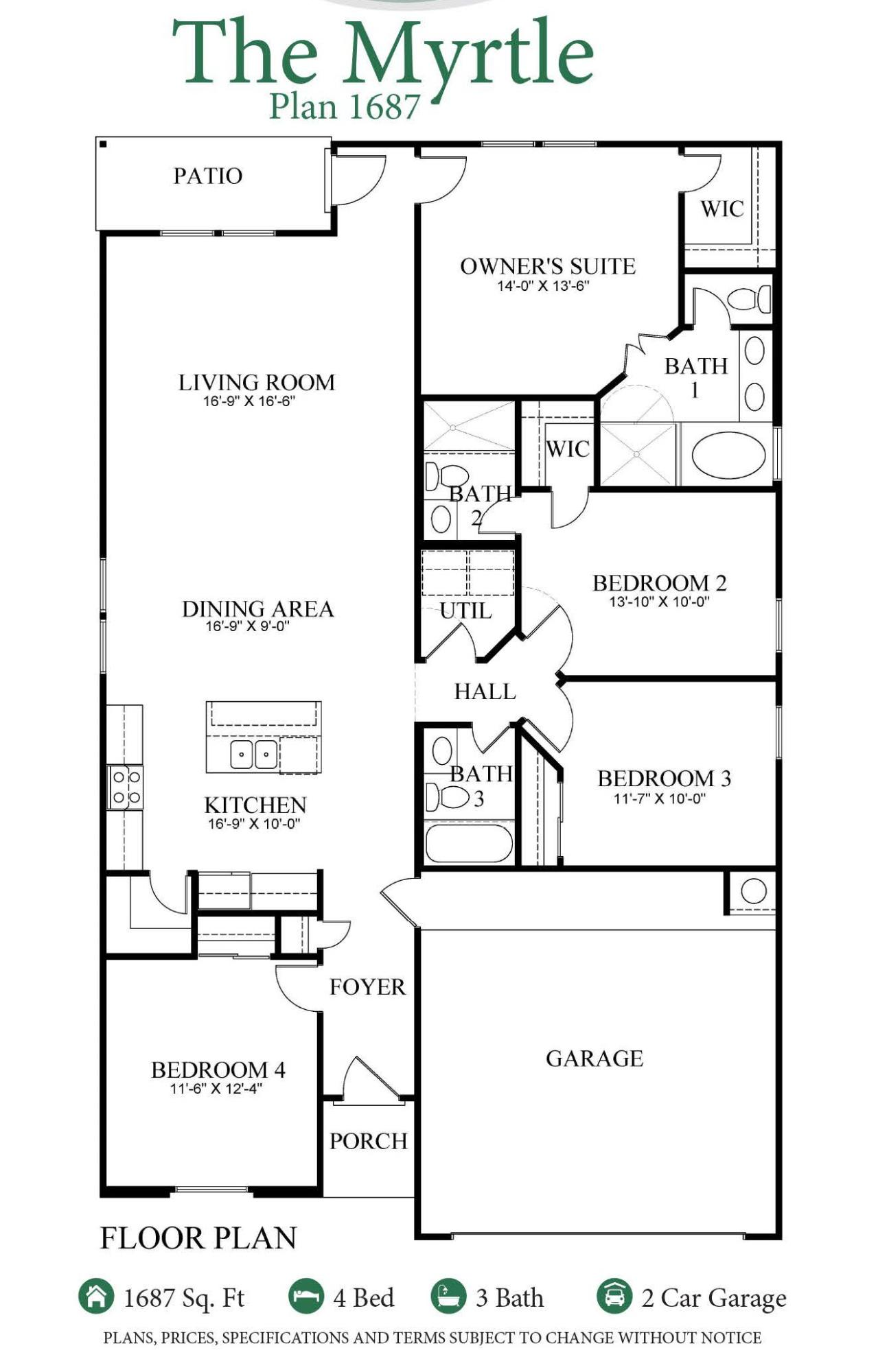 Myrtle Floorplan