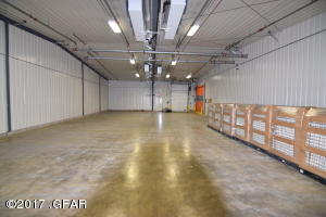 Newer Refrigerated Area (view to doors)