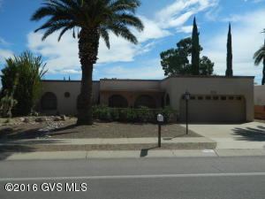 Wonderful Golf Course and Mountain Views out this South Western Designed Home. Most Furnishings Available By SBOF. Courtyard Entry with large Screened in Porch. Formal Dining Room. Den with Murphy Bed. Beehive Fireplace in LR. Large Arizona Room with great views. Large Laundry Room with ample Storage. Storage in Garage.