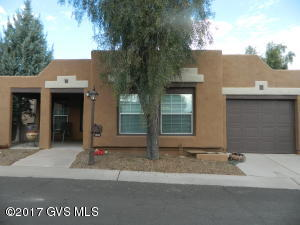 This is a great home in an active adult community with lots of amenities, It is 1080 sq. ft., 2 bedrooms, 2 bathrooms, an Arizona Room, and 1 car garage. In 2013 new carpet in Living room and Master bedroom, new Laminate in 2nd bedroom or den and new Vinyl in kitchen and Arizona room. In 2014 a new refrigerator, gas stove and Microwave was put in. Also in 2013 a new Goodman gas pac was put in. This past year they put in a stainless steel kitchen sink and a garbage disposal. There is a screed in patio in the back and a nice front porch area for Happy Hours.almost forgot that in 2015 the roof was re-coated and the exterior of the house was painted. Wow this house is ready to move into!