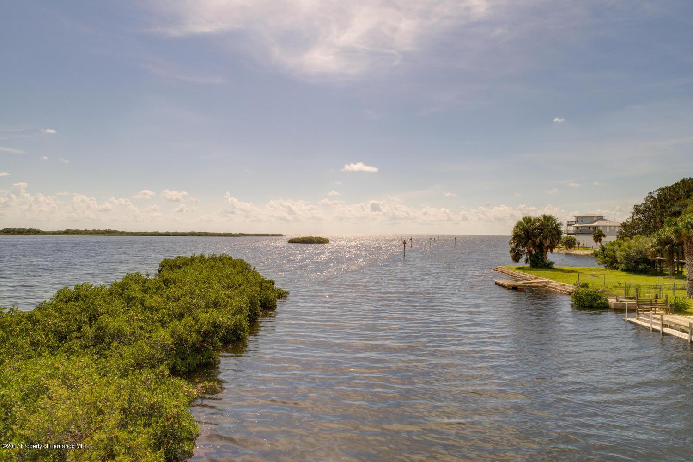Canal Facing Gulf
