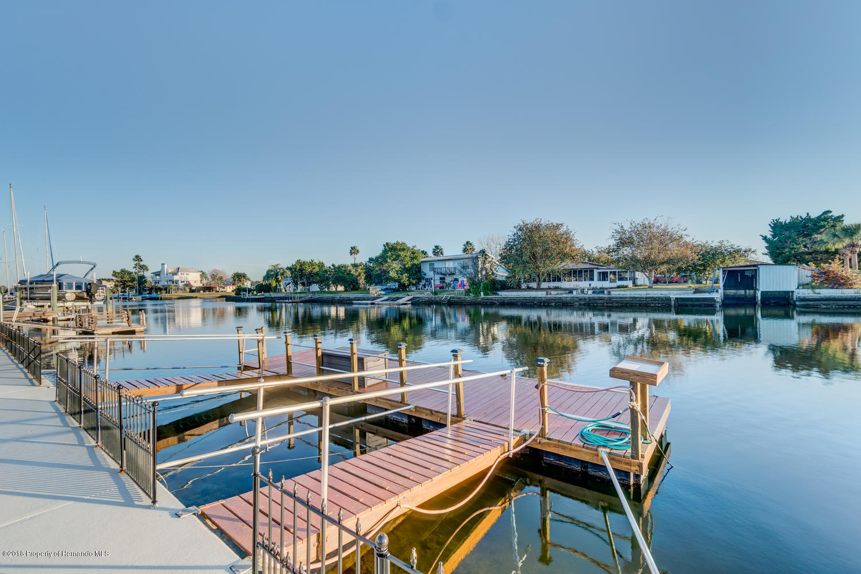 Floating Wood Dock