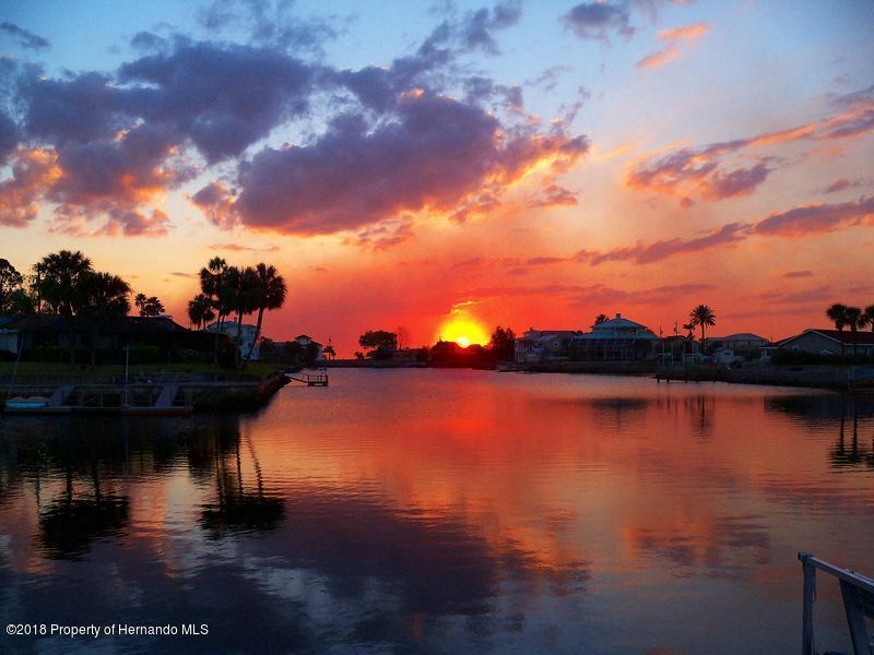 Sunset in Hernando Beach FL