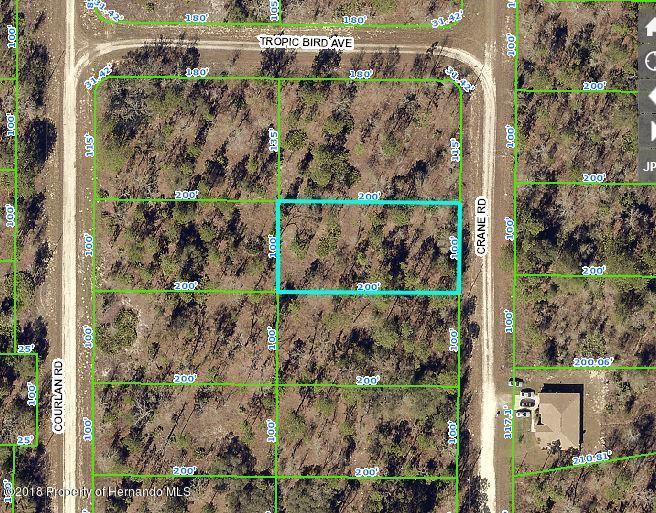 0 Crane Road, Brooksville, Florida 34614, ,Vacant land,For Sale,Crane,2197411