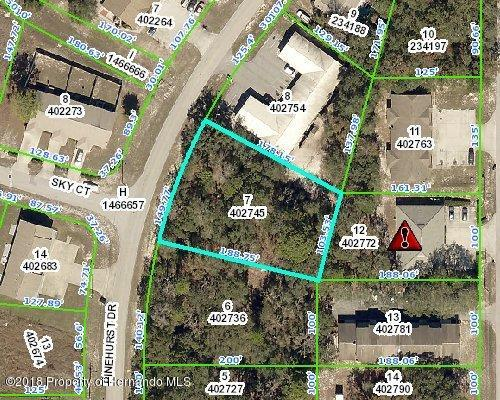 0 Pinehurst, Spring Hill, Florida 34606, ,Vacant land,For Sale,Pinehurst,2197431