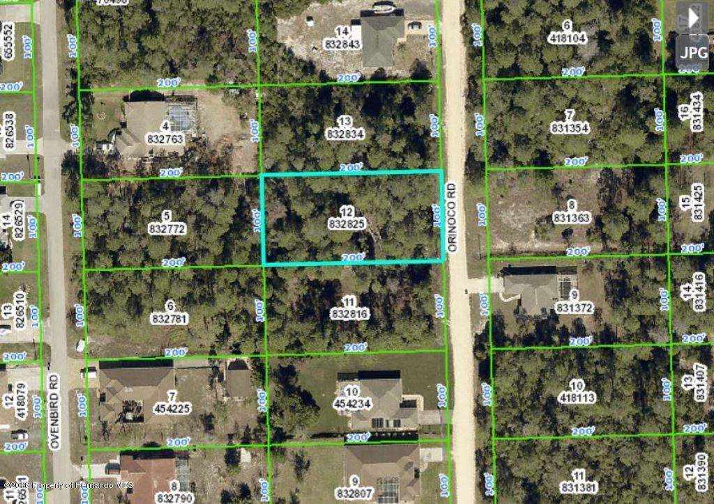 00 Orinoco, Weeki Wachee, Florida 34613, ,Vacant land,For Sale,Orinoco,2198804