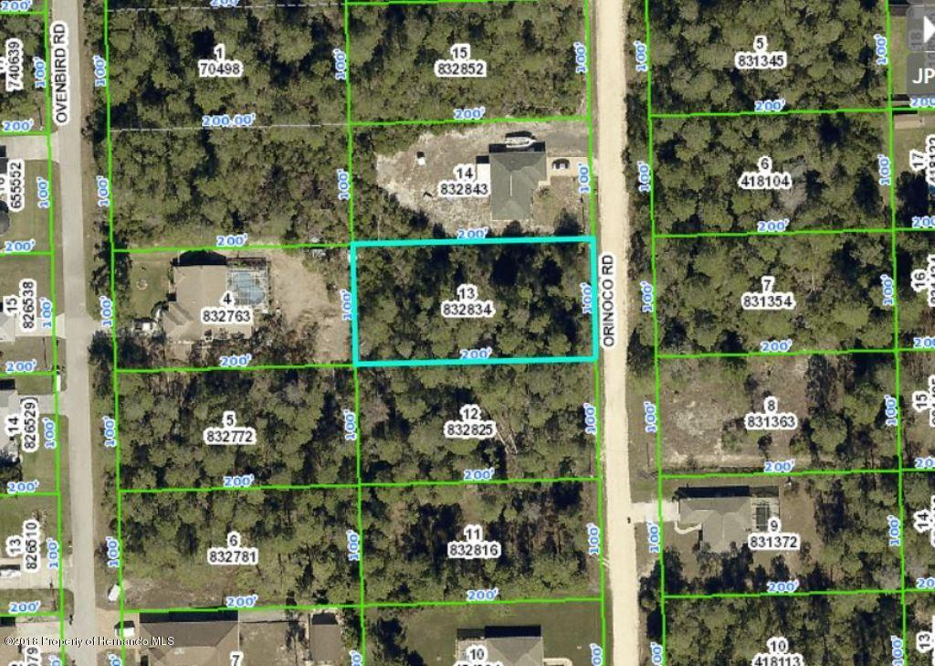 0 0 0 Orinoco, Weeki Wachee, Florida 34613, ,Vacant land,For Sale,Orinoco,2198805