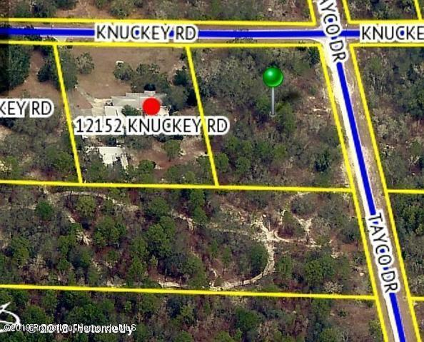 14511 Tayco Drive, Brooksville, Florida 34614, ,Vacant land,For Sale,Tayco,2199001