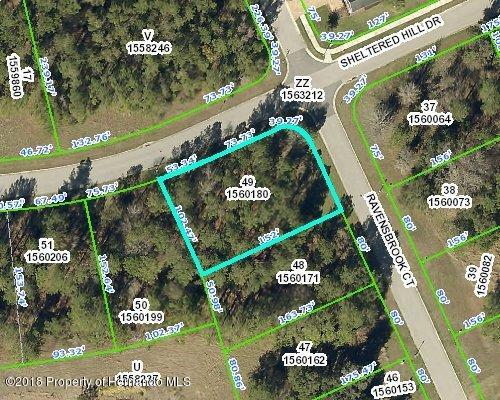 0 Ravensbrook Court, Brooksville, Florida 34601, ,Vacant land,For Sale,Ravensbrook,2199006