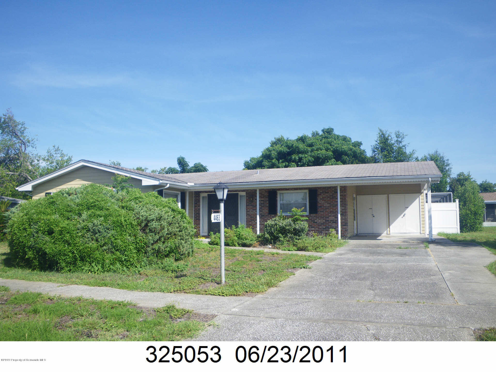 4463 Crescent Road, Spring Hill, Florida 34606, 3 Bedrooms Bedrooms, ,2 BathroomsBathrooms,Residential,For Sale,Crescent,2200429