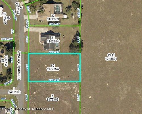 12171 Buckingham Way, Spring Hill, Florida 34609, ,Vacant land,For Sale,Buckingham,2200594