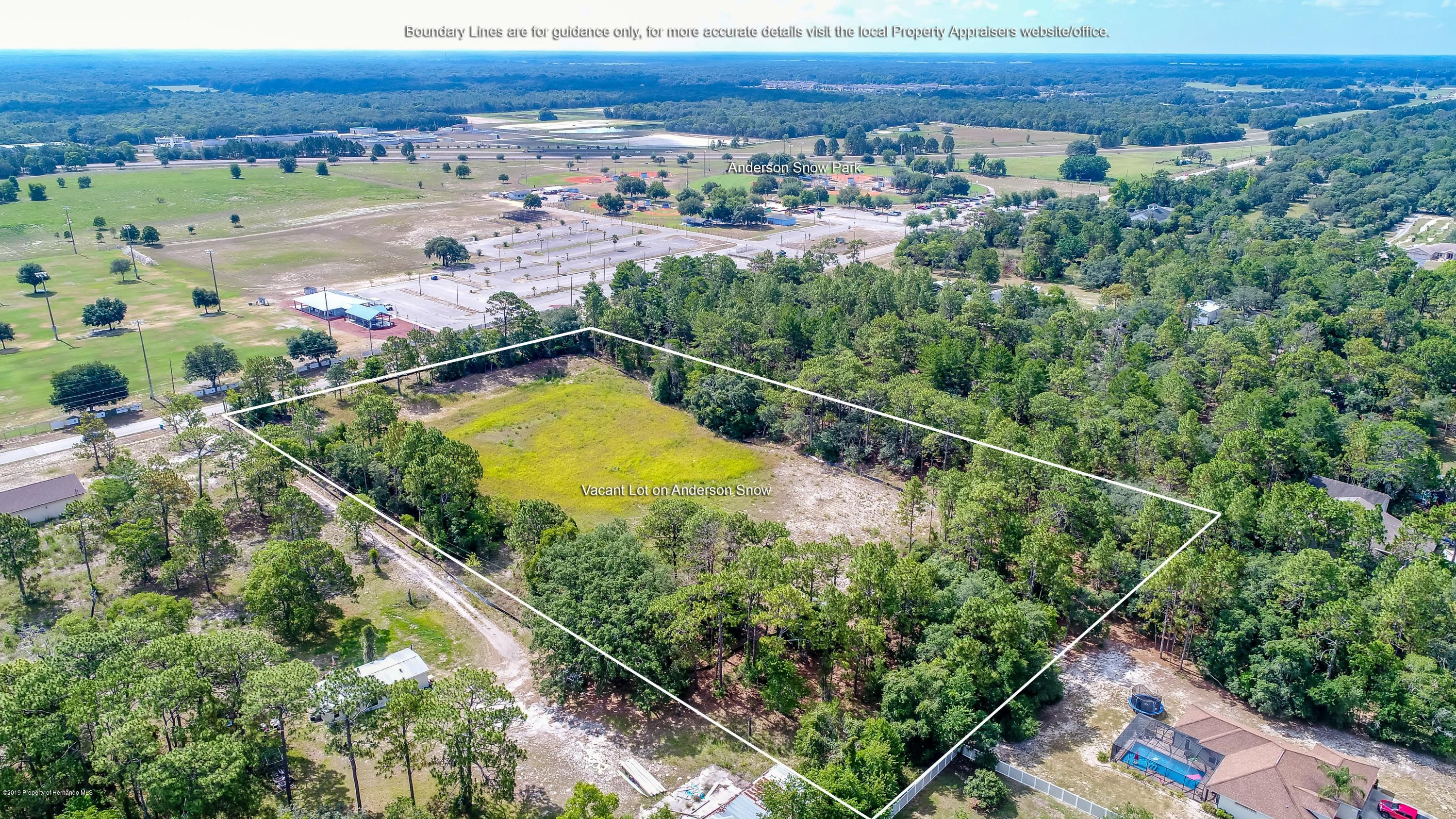 0 Anderson Snow, Spring Hill, Florida 34609, ,Vacant land,For Sale,Anderson Snow,2201879