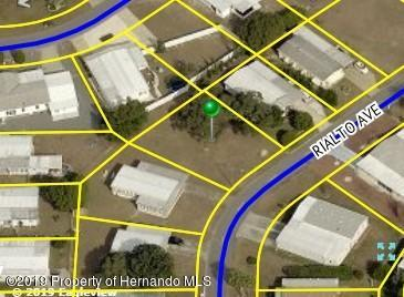 0 Rialto Avenue, Brooksville, Florida 34613, ,Vacant land,For Sale,Rialto,2206035